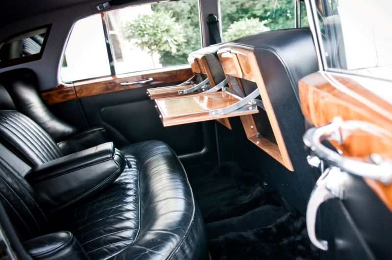 Rear compartment of Rolls-Royc