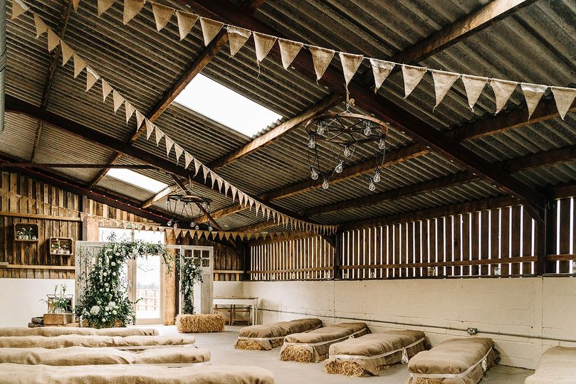 Grange Barn Ceremony Room