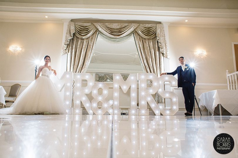 Kingswood Golf & Country Club - The new Mr & Mrs
