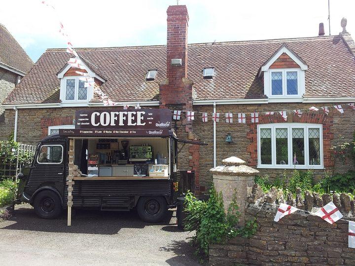 Artisan Coffee Van working