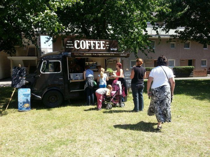 Artisan Coffee Van event