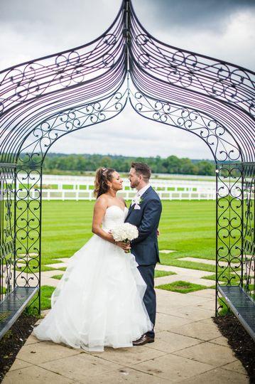 Inspirational wedding setting