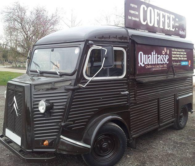 Coffee van for hire