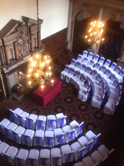 Civil Ceremony Setup