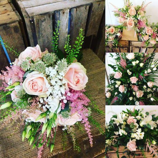 Pink tone wedding