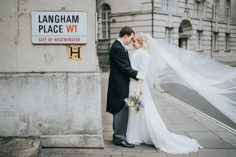 The Langham Wedding London