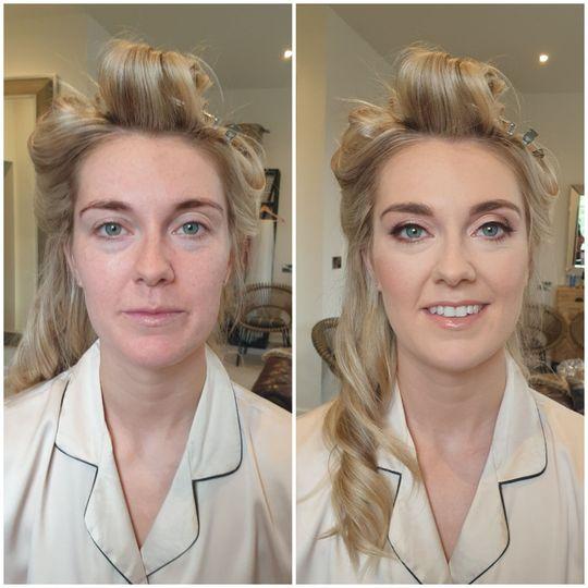 Gorgeous radiant bridal makeup