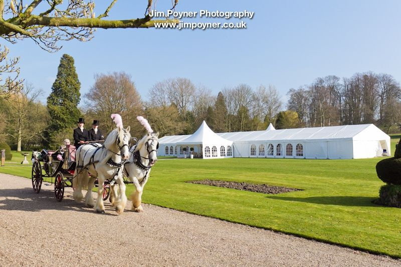 Wedding Marquee near Thirsk