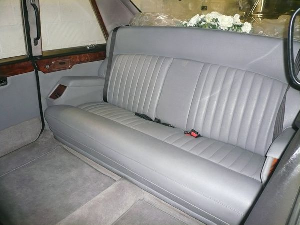 Daimler DS 420 Limousine Interior