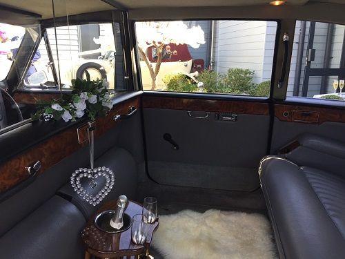 Daimler interior, pure luxury