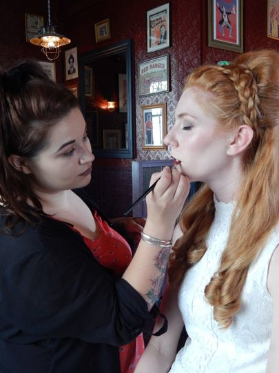 Vintage Hen Party Styling