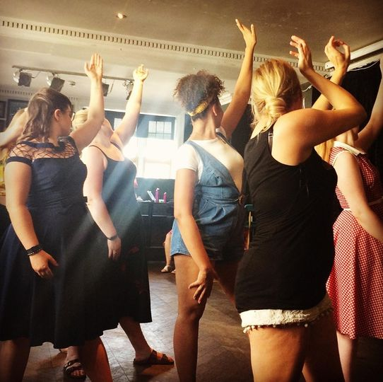 Burlesque Class Hen Party