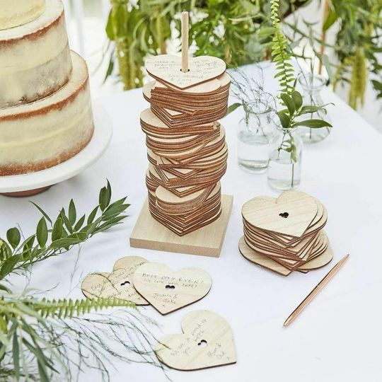 Heart stack guestbook