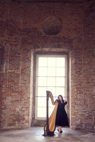 Concert Harp at Mussenden