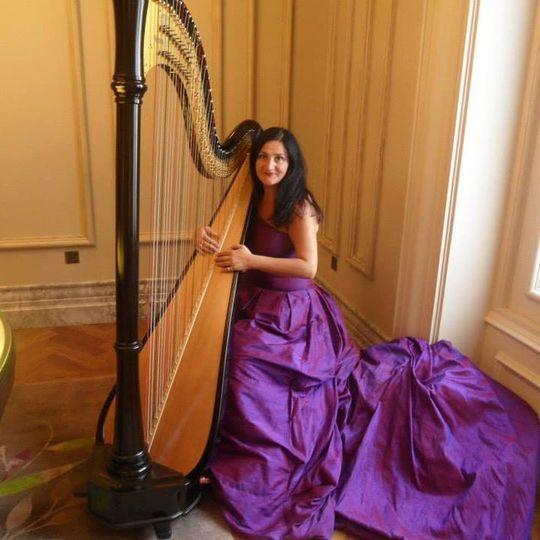 Ni Harpist Les Magee Galgorm R