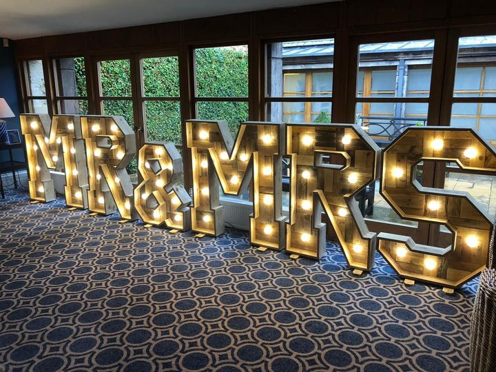 Wooden 4ft Letters
