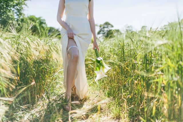 Bridal garter - Alice
