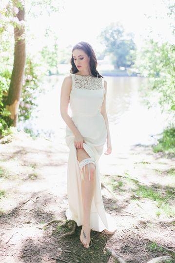 Bridal garter - Gráinne