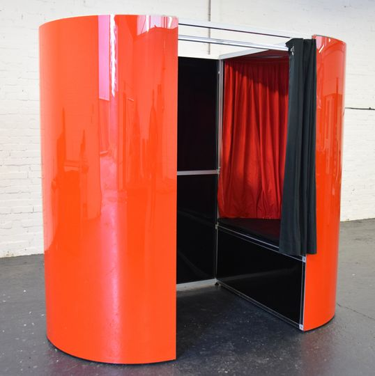 Funtasia Red Photo Booth Hire