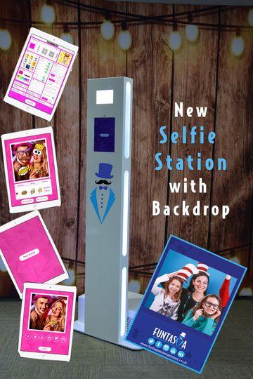 Funtasia Selfie Station Hire
