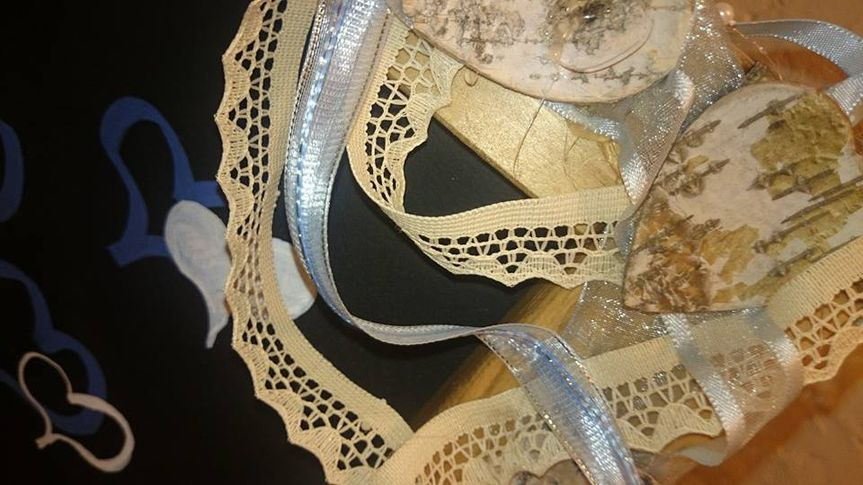 Close up of vintage lace