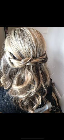 Soft plait and waves