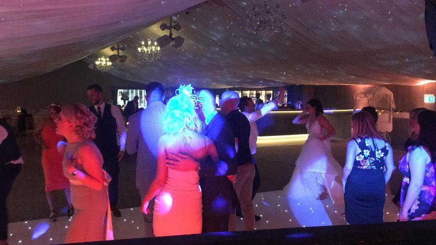 Fun dance at Oakley hall