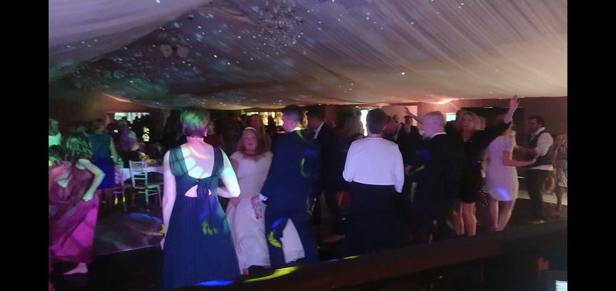 Family dance at Oakley hall