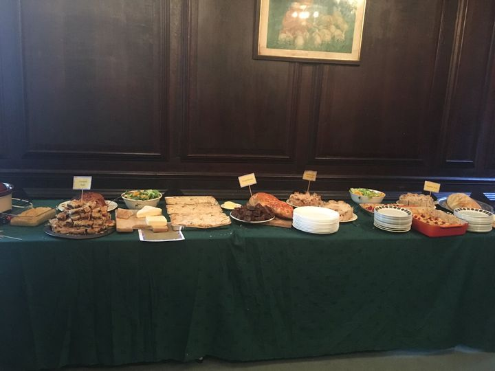 Tudor Feast buffet style