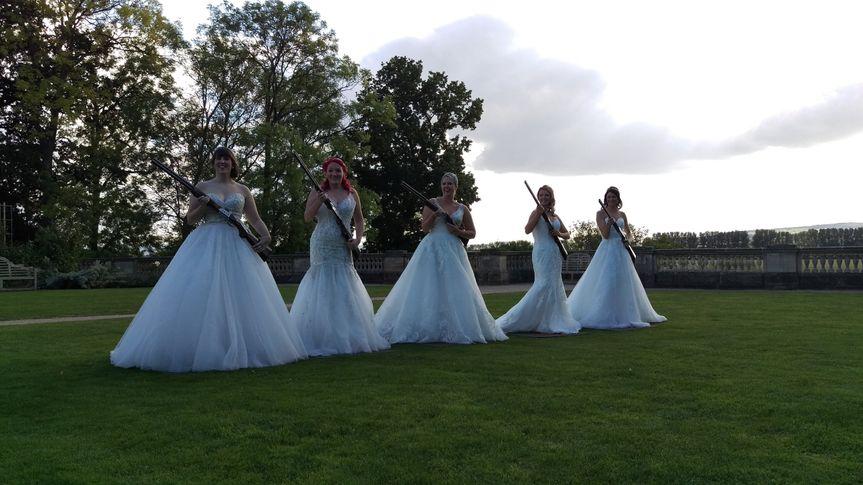 Brides with Laser Clay