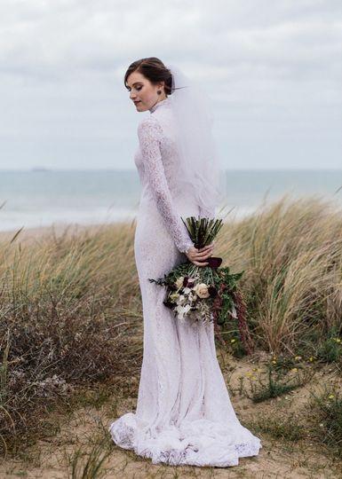 Flowers for a florist bride
