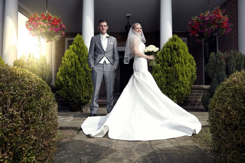 The bride and groom - Rob Nicholson Photography