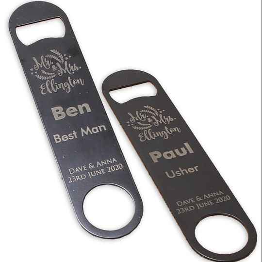 Personalised bottle openers