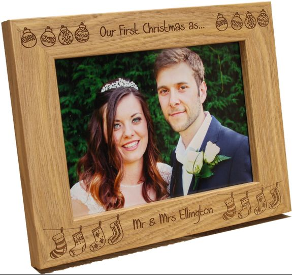 Elegant wedding momento