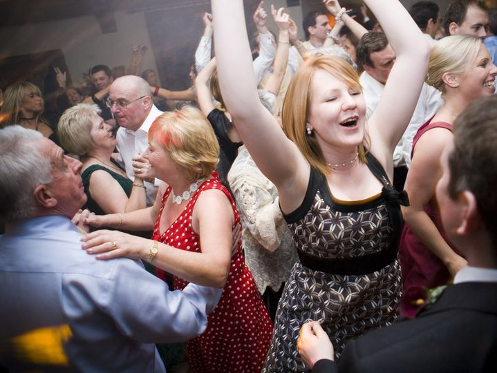 I love this dancefloor shot as it shows many ages of people having fun together.