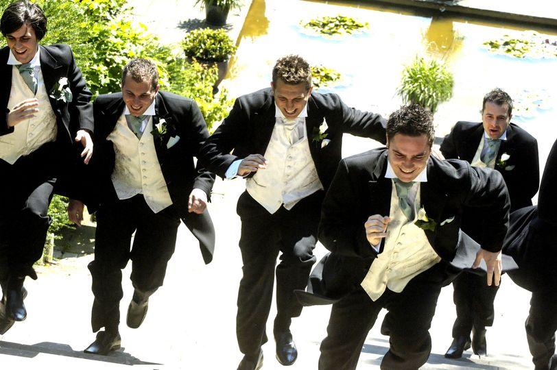 Pre wedding race!