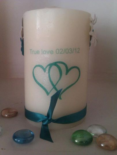 True Love Candle