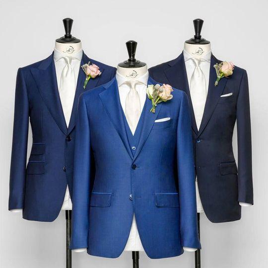 Bespoke wedding clothes