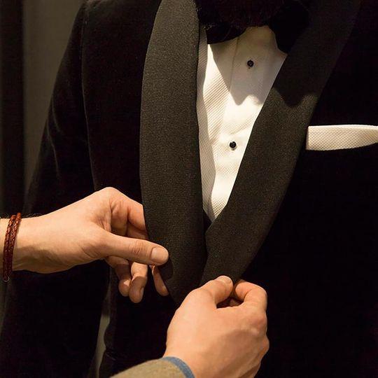 Tailor-made tuxedo