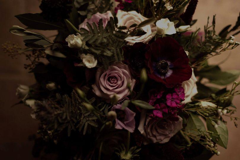 Wildflower rustic bouquet