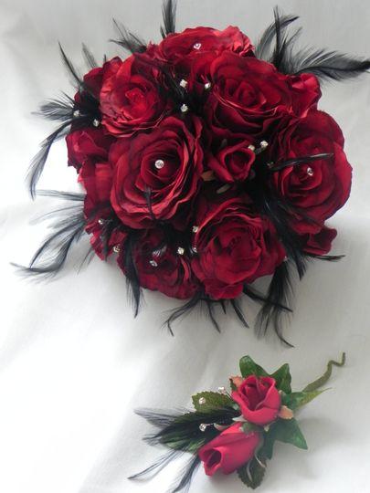 Vintage posy bouquet