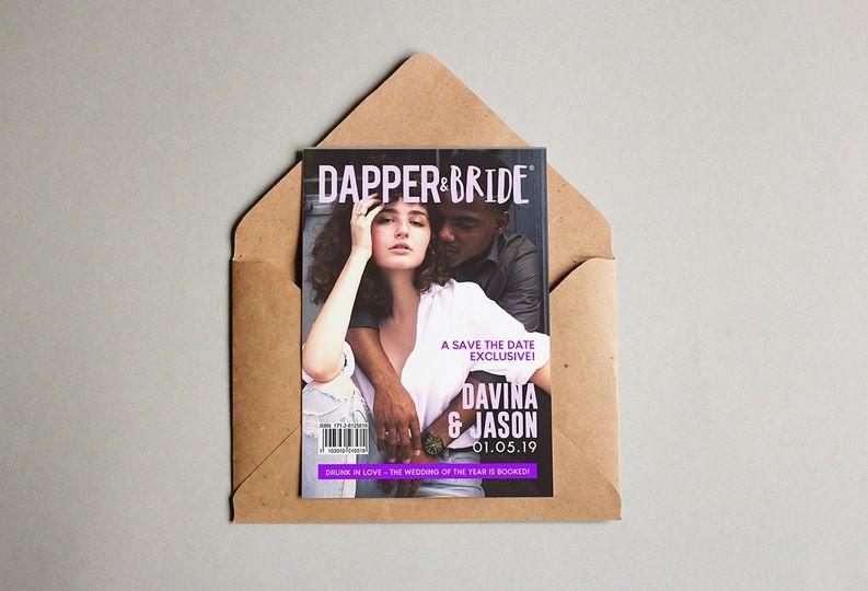 Save-the-dates - Dapper & Bride