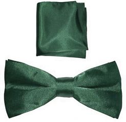 Bow Tie And Handkerchief Set