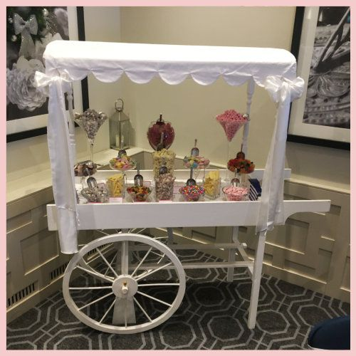 Traditional sweet cart