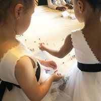 Arts and crafts for junior wedding guests