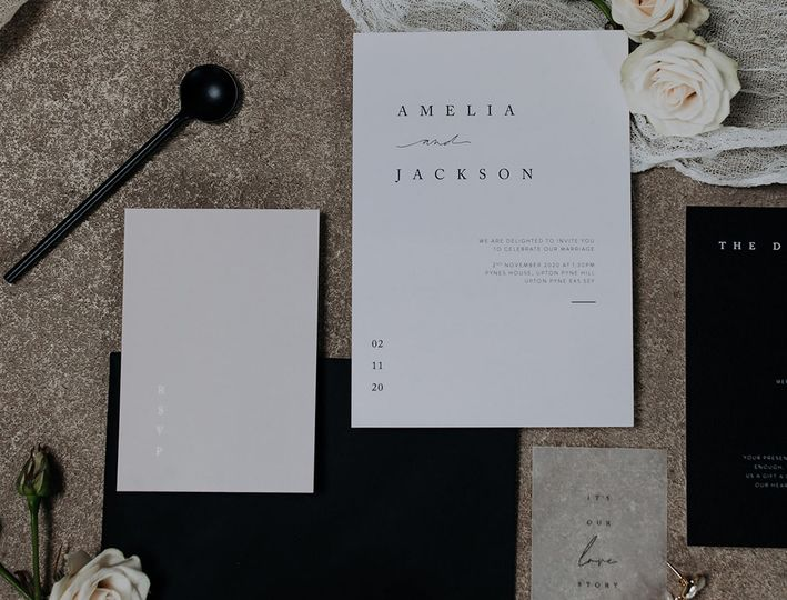 modern chic wedding invitations 4 109507 160976113129295