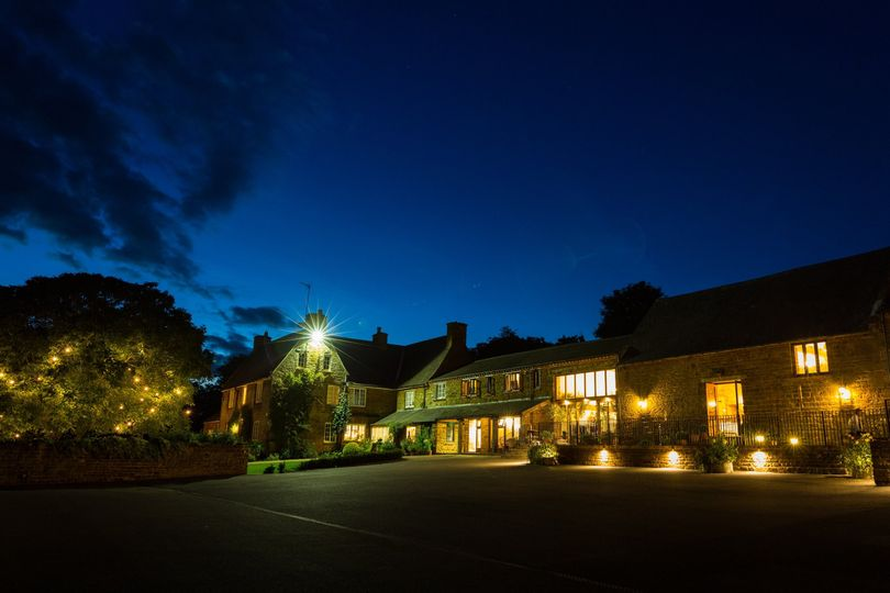 Crockwell Farm at night