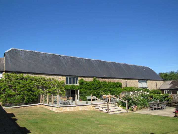 The Great Barn patio garden