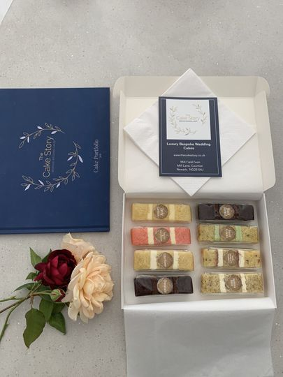 Cake Sample boxes