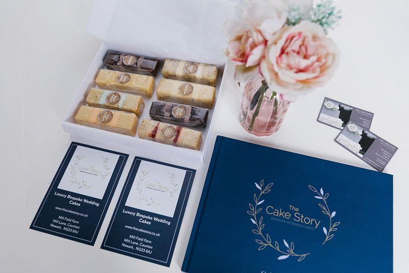Cake Sample Boxes